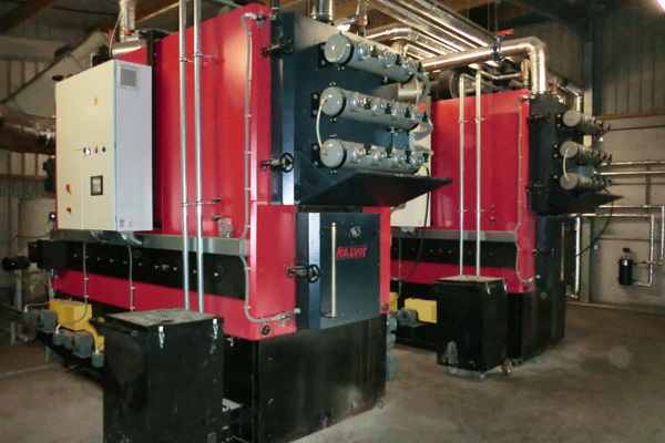 1MW M1 Kalvis biomass boiler for drying system